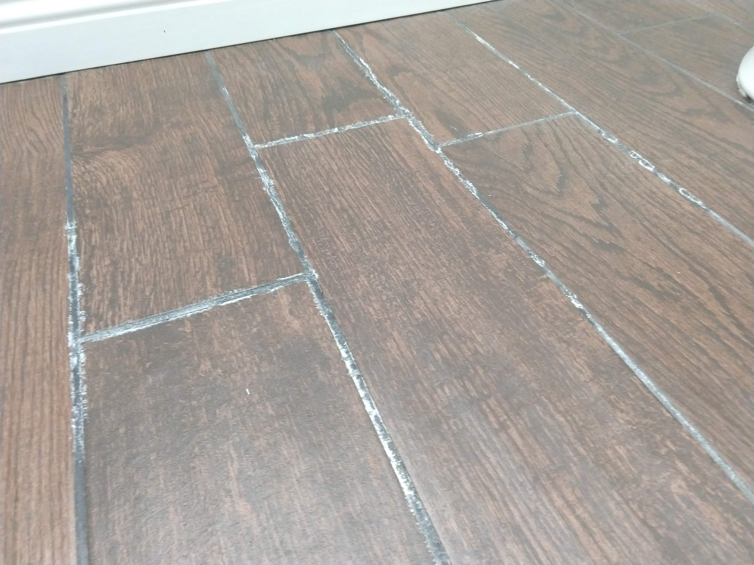 Bathroom Floor Leak Through Tile Grout - Plumbing - DIY ...