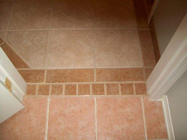 Where To Place Tile At Doorway Tiling Ceramics Marble