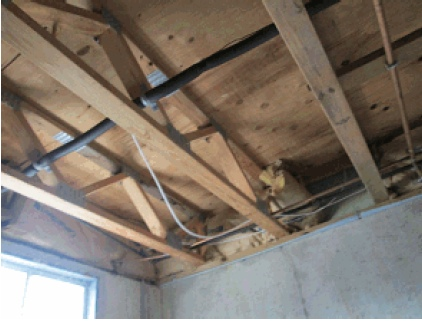 SubFloor Prep and Ceramic Tile Installation-floorjoists.jpg