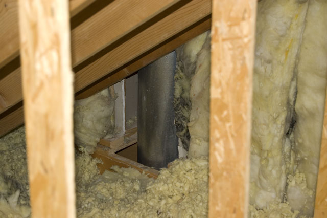 Insulating Around Fireplace Flue Insulation Diy