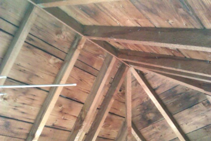 Sagging Roof Need Advice Cracked Rafter Pictures