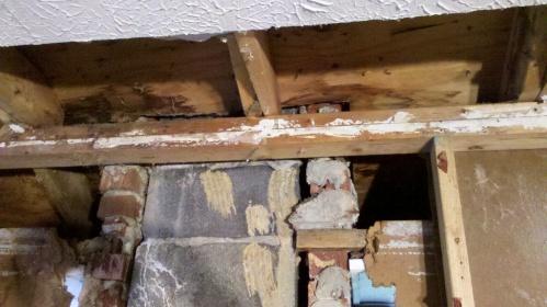 Band Rim Joist Water Damage Repair Building
