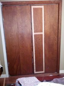 Updating 1970 S Plain Closet Bi Fold Doors Interior
