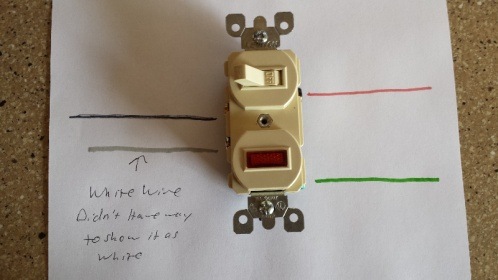 how to wire a switch with a pilot light electrical page 2 diy rh diychatroom com cooper pilot light switch wiring diagram leviton pilot switch wiring