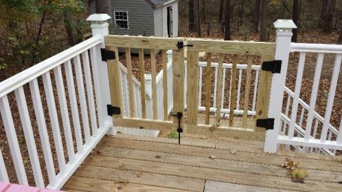 building a deck gate building construction page 2 diy