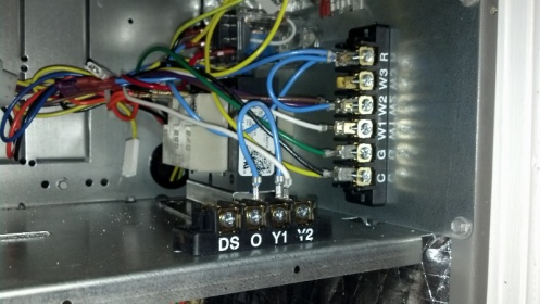 Help Thermostat Wire Lennox Air Handler Hvac Diy Chatroom Home Improvement Forum
