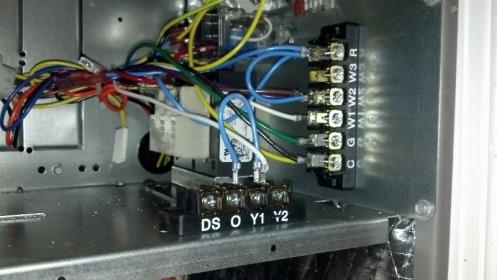 Help Me Thermostat Wire My Lennox    Air       Handler     HVAC  DIY