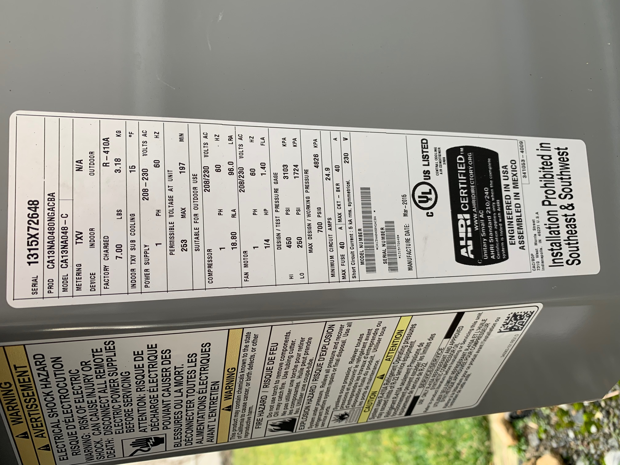 Overloaded circuits -damage to A/C units-four-ton-ac.jpg