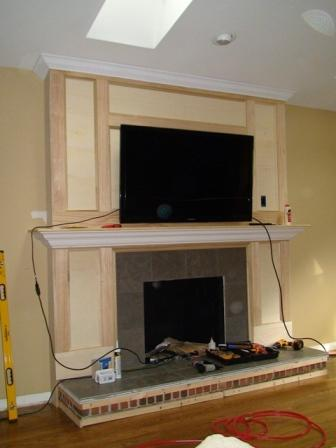Fireplace Remodel Ongoing Project Showcase Diy