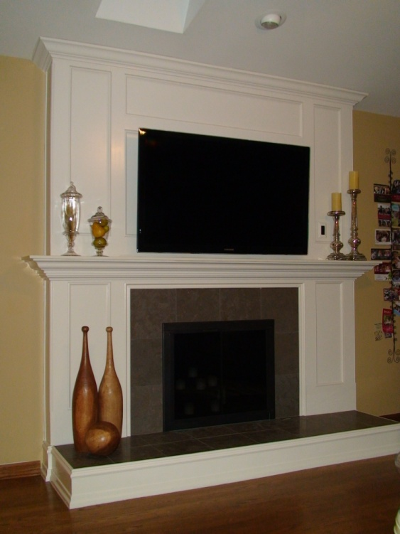 Fireplace Remodel Ongoing Project Showcase Page 2