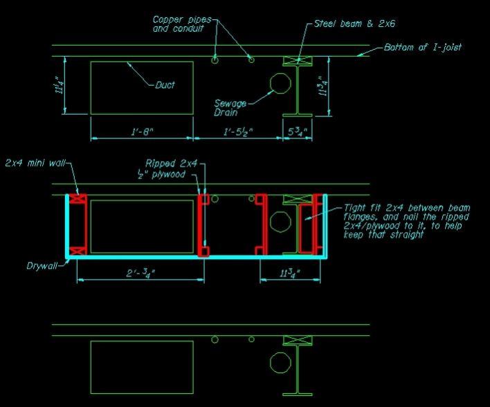 Frame around duct work and beam-frame-around-duct-beam.jpg