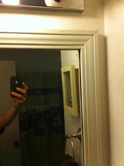 framing a bathroom mirror-frame.jpg