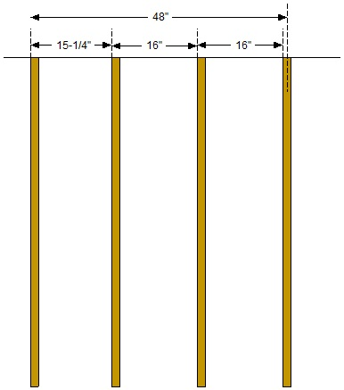Rafter Spacing Question Building Amp Construction Diy