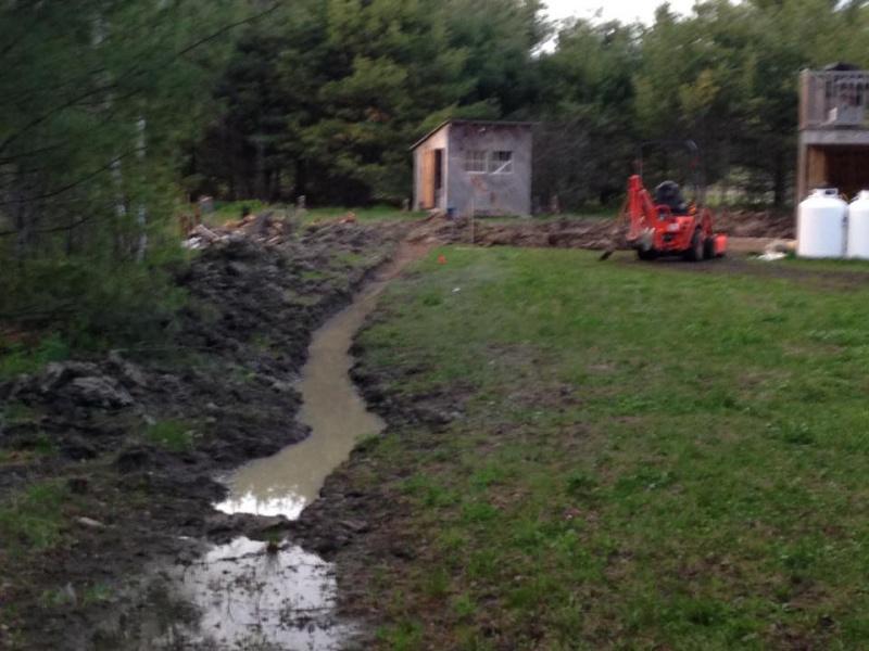 Landscape/Hardscape Project For WET Backyard - Landscaping ... on Landscaping Ideas For Wet Backyard id=55483
