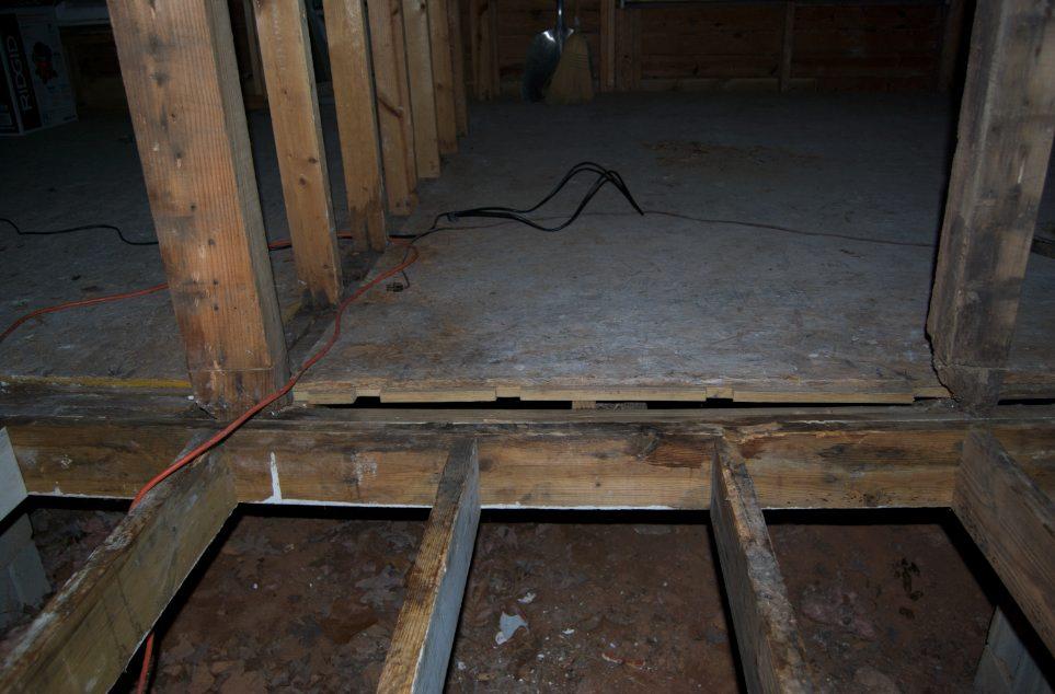 Bubba's been here. Repairing sagging rim/floor joists.-bathroom.jpg