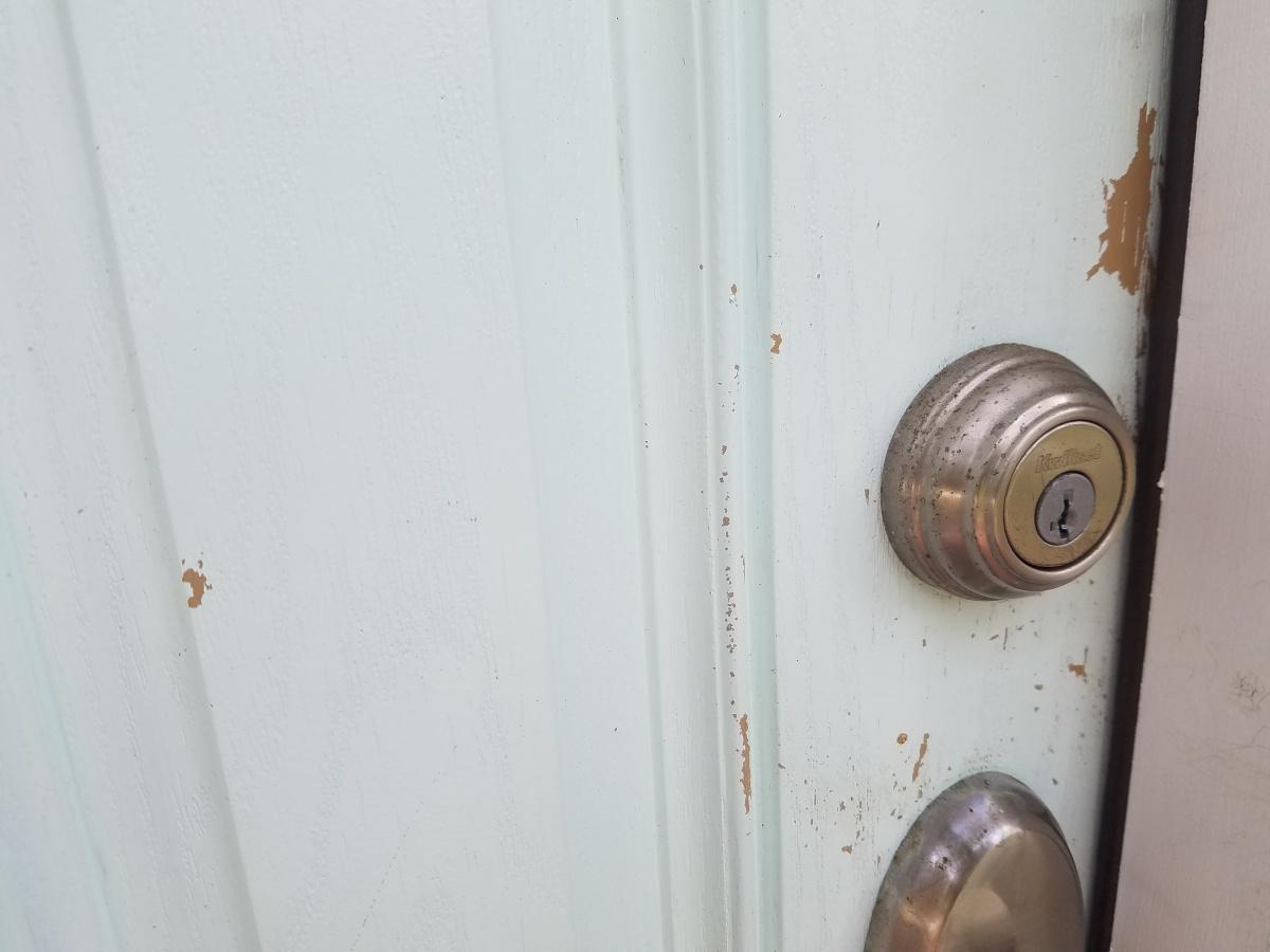 Re Painting Fiberglass Exterior Door Stripper Recomendation