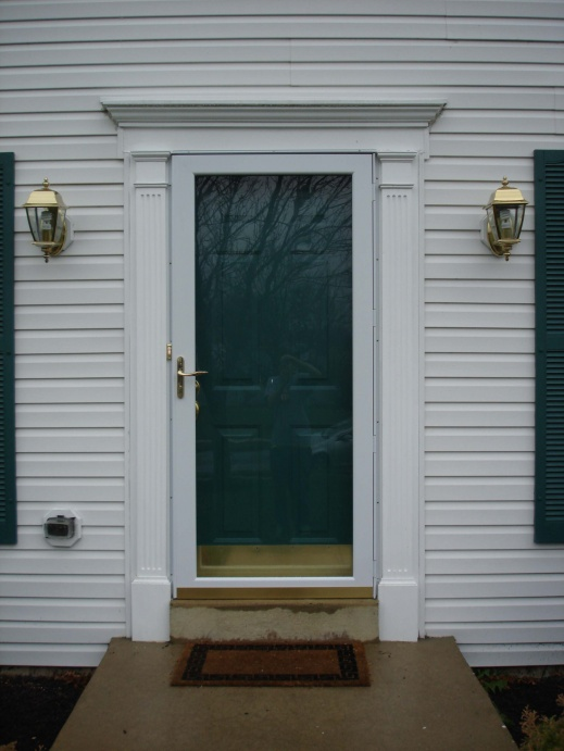 Delicieux How To Replace Front Door Frame Modern Looks Solution For Rotten