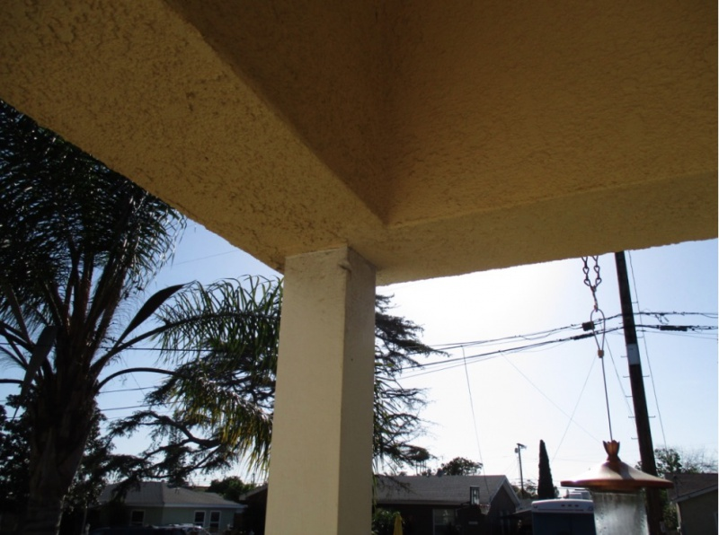 Help Replacing A Roof Overhang Support Post Building