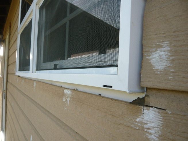 Exterior Window Trim Prevent Water Leak Building