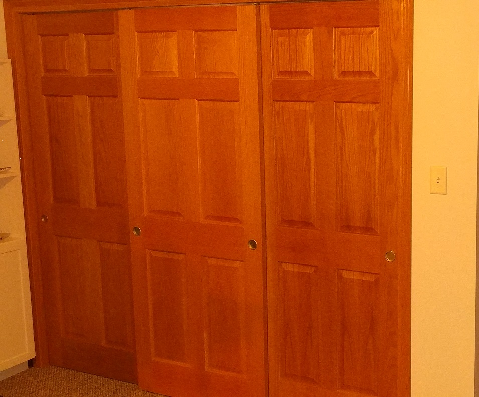How To Locksecure A Sliding Closet Door Windows And Doors Diy