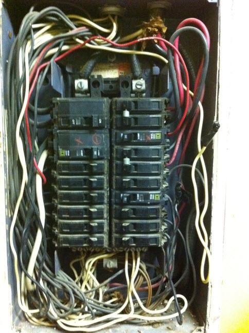 Help Troubleshoot 100 Amp Panel Limitation - Electrical