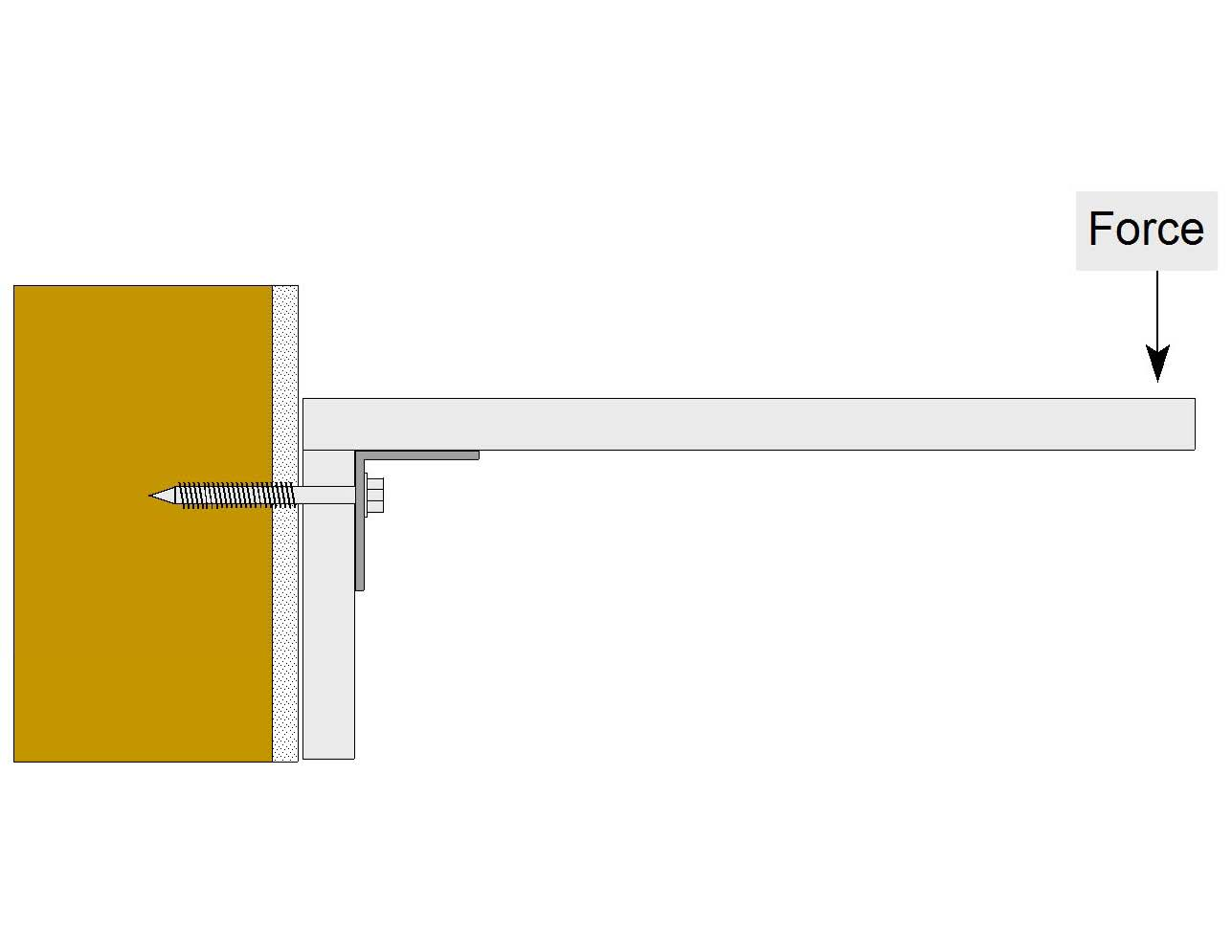 d floating shelf concerns design flaw full page photo