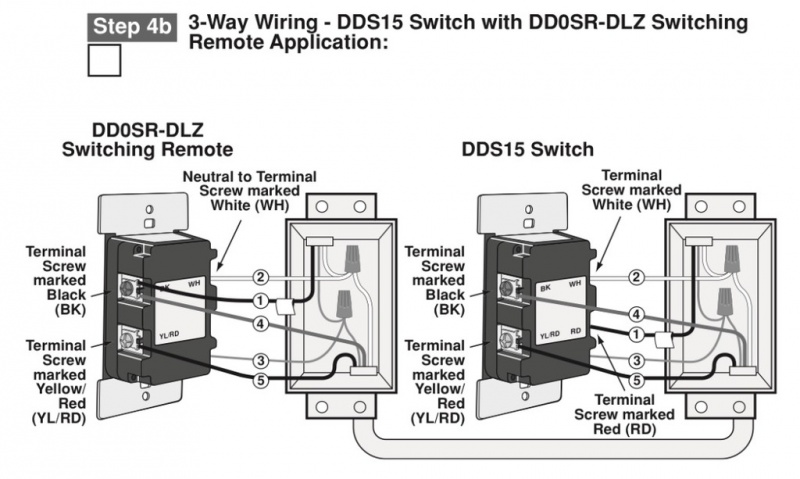 Leviton Smart Switch 3 Way Wiring Diagram
