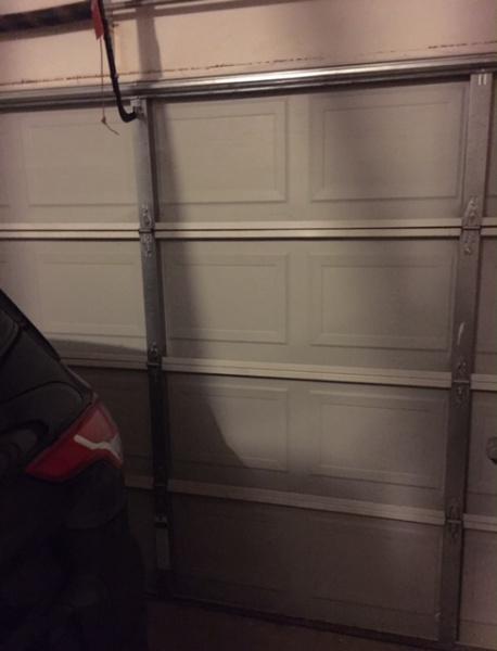 Bubble Wrap Radiant Barrier For Metal Garage Door General Diy