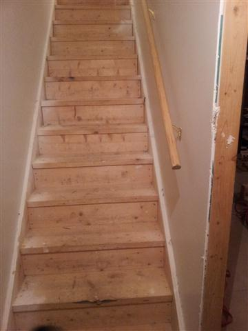 Attaching Drywall To Bottom Of Stairs - Drywall & Plaster