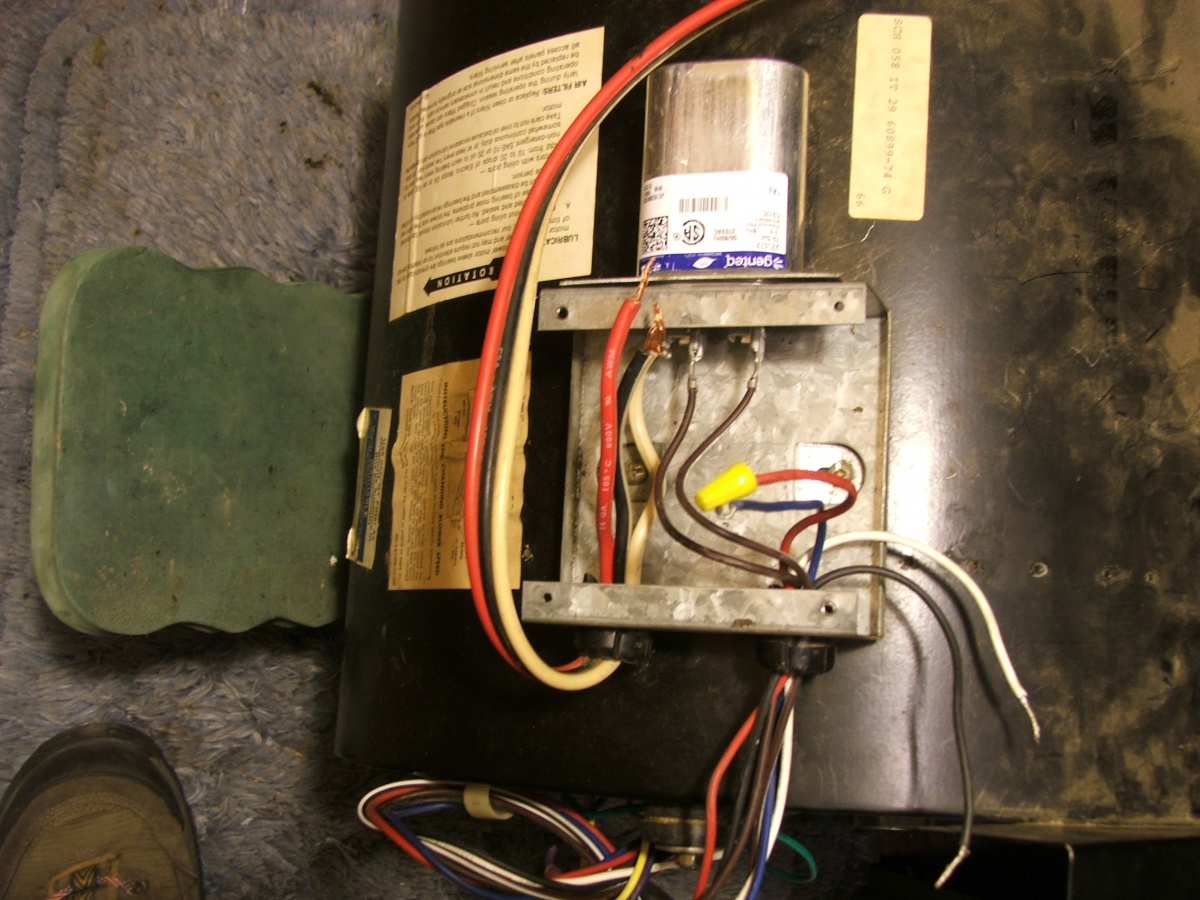 Slow Furnace Blower Motor After Replacement Hvac Diy Chatroom Help Wiring My 002