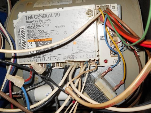 1993 Comfortmaker Rpg Ii Flame Sensor Not Working