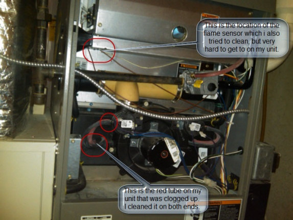 Lennox Furnace Burner Won T Stay On Hvac Page 3 Diy