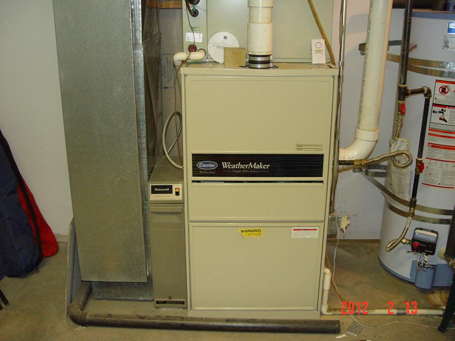 My Carrier High Efficiency Furnace Furnace1