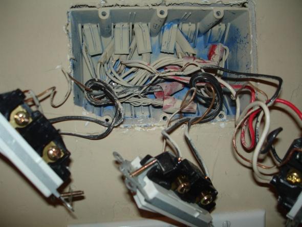 Installing Honeywell 3-way Timer Switch PLS750C - Electrical - DIY ...