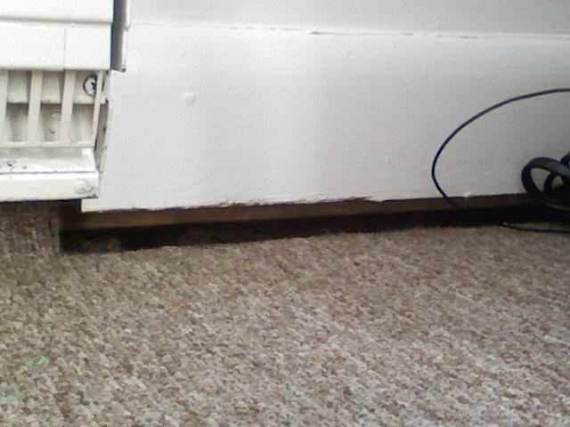 Please Help Huge Gaps Between Baseboards And Floor Building