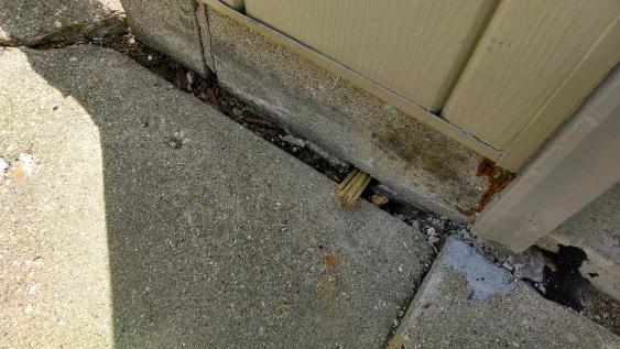 Help With BEAT UP Garage Drywall and Gaps In Concrete Around Garage..-gaps-3.jpg