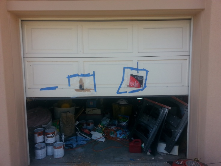 Repairing Wooden Garage Door - Carpentry - DIY Chatroom Home ...
