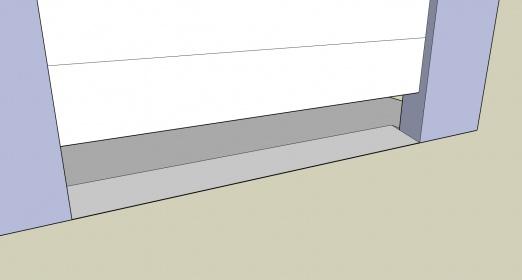 How to make a speed bump?-garage-door-slope.jpg