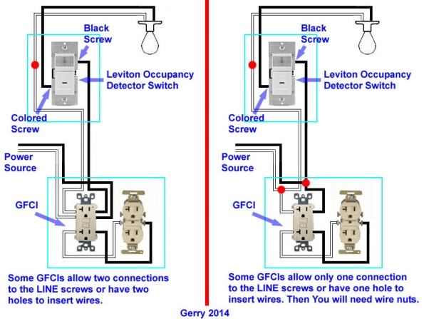 82938d1395674274 electrical wiring reassurance diagram garage gfci light electrical wiring reassurance (with diagram) electrical diy wiring diagram gfci outlet at eliteediting.co