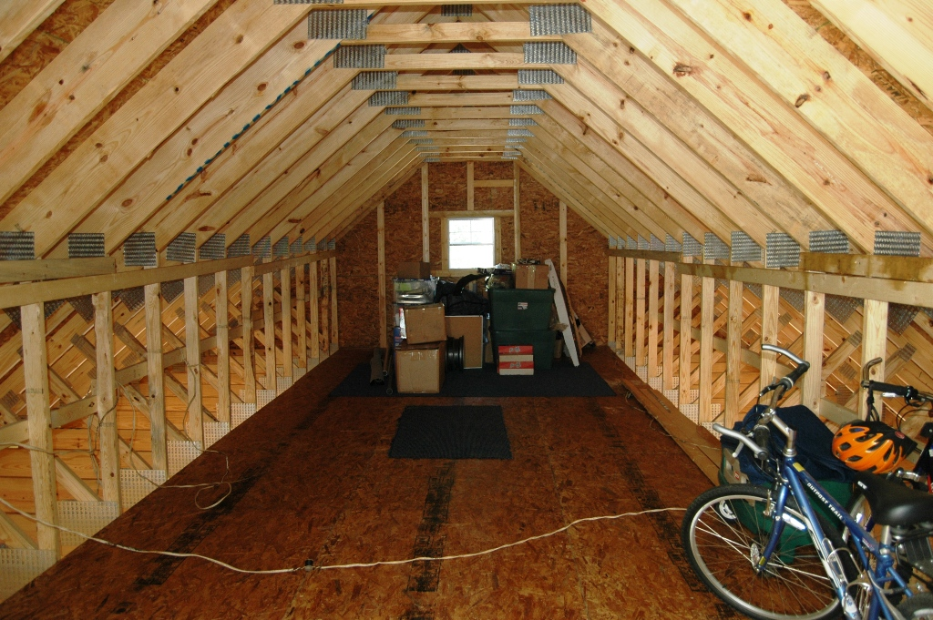 How To Insulate And Vent This Garage Attic Insulation