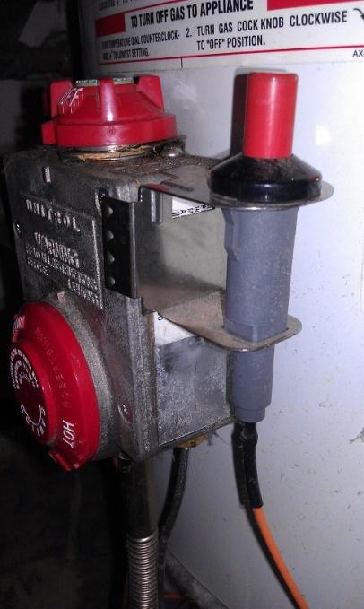 Rheem 40gal Water Heater - Pilot Won't Stay Light...thoughts ...