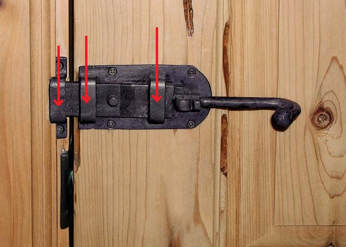 What Lubricant For This Outdoor Gate Latch Windows And