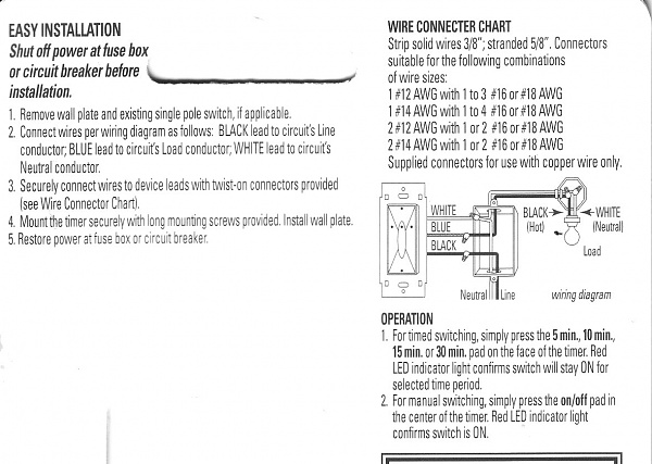 Ge Auto Shut-off Timer Won U0026 39 T Work - Electrical