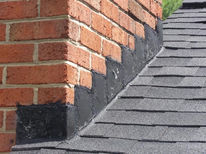 Leak Around Chimney Flashing New Roof Roofing Siding