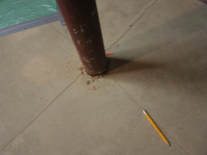 Basement Floor Cracks, Problem?