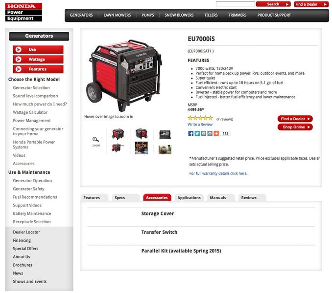 for forplay ahw play llc honda generators equipment new residential