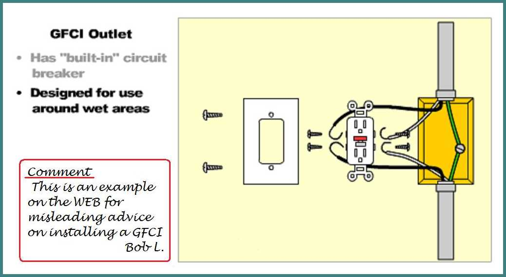 Wiring A Gfci Outdoor Outlet From An Inside Outlet - Parallel Or Series  - Electrical