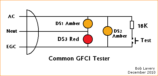 How A Circuit Tester Works : Home inspector says gfcis are not wired correctly