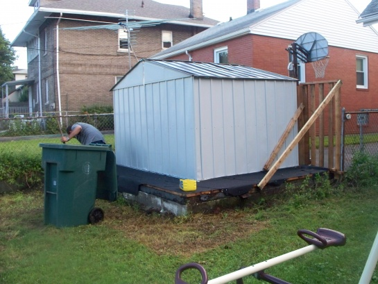 floor foundation for a metal shed-girls-getting-wet-018.jpg