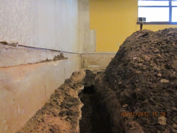 Interior French Drain Diy Diy Do It Your Self